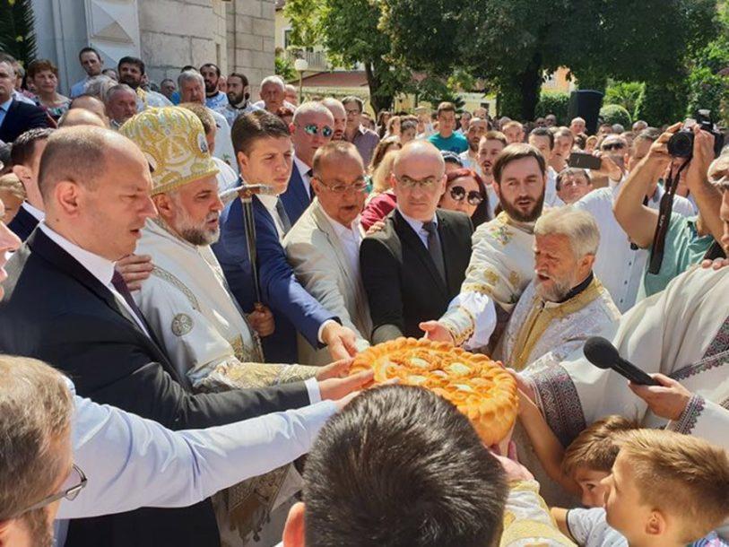 Svečano za slavu grada Trebinja: Vladika Grigorije pozvao na ljubav i poštovanje