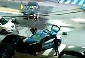 UBILI KARABINJERA Srbin i Hrvat pljačkali banku, pa se zakucali u automobil policije (VIDEO)