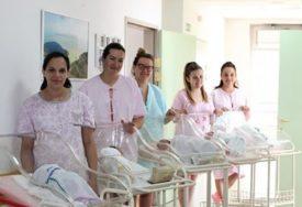 ROĐENO PET BEBA Ohrabrujuća vijest iz nevesinjskog porodilišta
