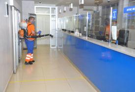 BORBA PROTIV KORONA VIRUSA U Prijedoru opet dezinfikuju javne ustanove i površine