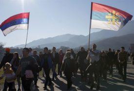 ODRŽAN MOLEBAN U PODGORICI Sveštenici pozvali građane da ne organizuju protestne šetnje (VIDEO)