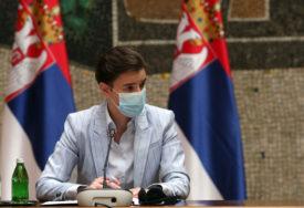 """""""NISAM ODUSTALA OD POLICIJSKOG ČASA"""" Brnabićeva upozorava na rast broja zaraženih"""